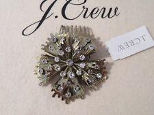 NEW J.CREW  AUTHENTIC HAIR PIN, COMB, BRONZE