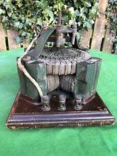 Rare Unusual Antique Electric Motor, Dynamo, Generator? Siemens??