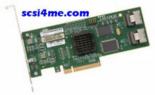 LSI SAS3081E-R 8-Port 3GB/s PCI-E Dual-Port SAS SATA Internal RAID Controller