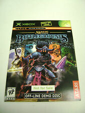Magic: The Gathering Battlegrounds (Demo Disc) (Microsoft Xbox) Sealed