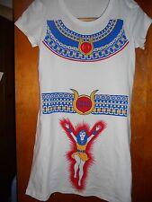 Womens Superhero 70's Isis Dress Inspired Ben Cooper Collegeville Costume sm-xxl