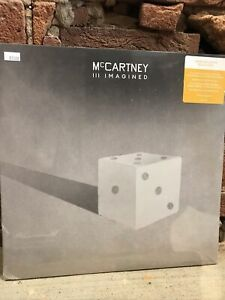 Paul McCartney III Imagined Indie EX 2xLP sealed gold colored vinyl In Hand 🎶