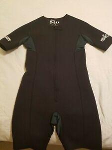 Kutting Weight Sauna Suit Weight Loss Mens XL Black Zip Neoprene