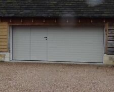 Ribb Design Sectional Garage Door Top Quality Wicket Door Available Trade Prices