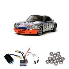 Tamiya Porsche 911 Carrera RSR TT-02 Brushless-Edition +Kugellager - 300058571BL