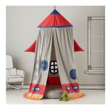 Land Of Nod Rocket Ship Tent And Floor Cushion