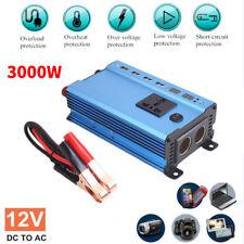 Solar Power Inverter 3000 Watt 12V DC To 220V AC Modified Sine Wave Converter