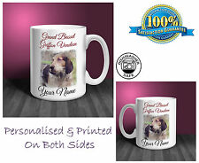 Grand Basset Griffon Vendeen Personalised Ceramic Mug: Perfect Gift. (D310)