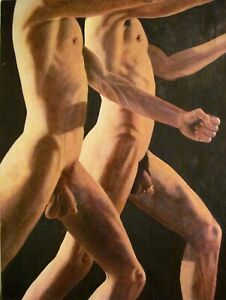 Male Nudes - Gay Militants Marching to Glory - by Earle Jay Goodman