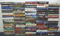 Lot of 100 Mystery Thriller Suspense Fiction Paperback Books RANDOM*MIX UNSORTED
