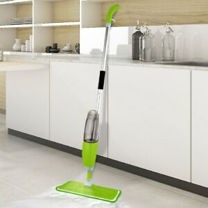 SPRAY MOP WATER SPRAYING FLOOR CLEANER TILES MARBLE KITCHEN 700ML MICRO FIBRE