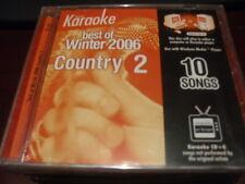 KEYNOTE KARAOKE DISC CD+G 1004 BEST OF WINTER 2006 COUNTRY VOL 2 10 TRACKS