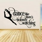 Dance Girl Wall Sticker Home Decoration Accessories Self Adhesive Living Room