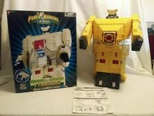 POWER RANGERS ZEO PYRAMIDAS CARRIER ZORD COMPLETE WITH BOX DELUXE BANDAI