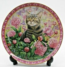 Collectable China Plate.Christie in Summer. 20.5cm Diameter. Undamaged Beautiful