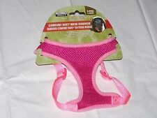 New listing New X Small Male Female Puppy Dog Pet Pink Adjustable Comfort Soft Mesh Harness