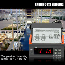 Stc 1000 110v 220v Digital Temperature Controller Sensor Thermostat Instrument