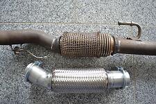 INTERLOCK Flexrohr*Montage ohne Schweißen+Schelle VW Polo 9N3 1.2i 1.2 12V