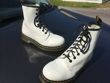 Dr Martens 1460 white smooth leather boots UK 3 EU 36