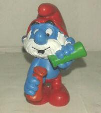 Bd figurine vieux schtroumpf 1983  peyo schleich SMURF PUFFI