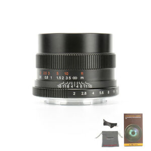 7artisans 35MM F2.0 Mirrorless Camera Manual Fixed Focus Lens For Sony E Mount