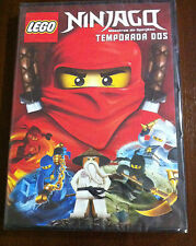 LEGO NINJAGO MAESTROS DEL SPINJITZU - TEMP DOS - DVD - 285 MIN - NEW & SEALED