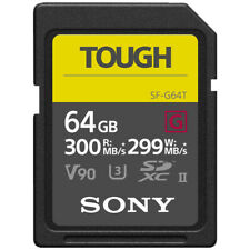 Sony 64GB SF-G Tough Series UHS-II SDXC Memory Card