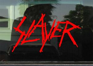 SLAYER VINYL DECAL / STICKER