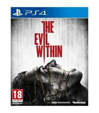 Bethesda PS4 the Evil Within