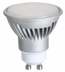 10 LAMPADINE LED GU10 230V 7W 120° LAMPADA LED SPOT PER PORTA FARETTO INCASSO