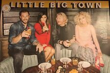 Little Big Town 4pg ENTERTAINMENT WEEKLY feature, clippings