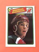Brendan Shanahan 1988-89 O-Pee-Chee ROOKIE Hockey Card #122  WOW! SEE PHOTOS