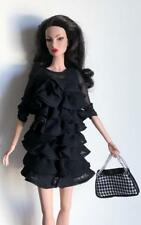"""12"""" Silkstone Barbie Black & White Chained Handle Bag~Fit Fashion Royalty~Mint"""