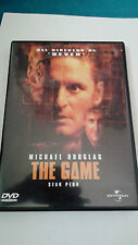 "DVD ""THE GAME"" DAVID FINCHER MICHAEL DOUGLAS"