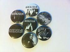7 black Metal badges Filosofem Hvis lyset tar oss Det som engang var Mayhem