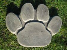 Paw print stepping  stone garden ornament | Dog Great dane