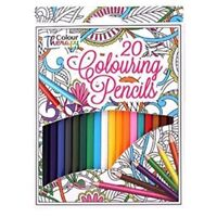 20,40 Professional Colour Therapy Colouring Pencil Artist Quality Relax assort