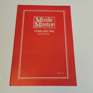 Music Master Supplement February 1981: The World's Greatest Record Catalogue