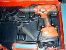 HILTI SFH 181-A 18 VOLT 3 SPEED COMBI DRILL AND 1X 2AMP 18 VOLT BATTERY CASED