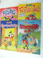 4 x Fix und Foxi - Sonderheft - Rolf Kauka - Sammlung 2   - Z.  sehr gut