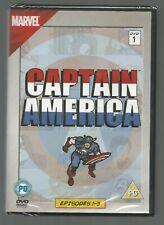 CAPTAIN AMERICA - EPISODES 1-3 - sealed/new - UK REGION 2 DVD