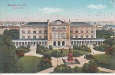 Ansichtskarte Ostpreußen   Königsberg  Universität   Feldpost  1915