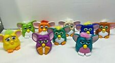 Vintage McDonalds Furby Happy Meal Toys 1998 Furbies Collection Lot of 9