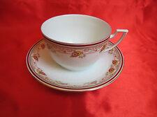 Tasse déjeuner porcelaine Limoges J BOYER ART DECO guirlande fleurs