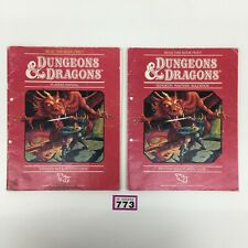 DUNGEONS & DRAGONS PLAYERS MANUAL DUNGEON MASTERS RULEBOOK TSR RPG D&D