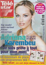 Télé Star N°1198 -13/09/1999- Adriana Karembeu - Fanny Ardant - Jane March