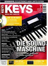 Kurzweil PC361 das Multitalent - Keys DVD mit Loops Samples Workshops und Tests