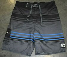 Ocean Current Boys Board Shorts Multicolor Striped Size XL