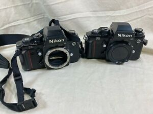 Pair of Vintage Nikon F3 camera bodies