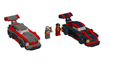 Lego 2 Race Cars building instruction - No bricks +FREE GIFT  INSTRUCTION